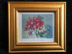 "Sheila Fairman Framed Art Print ""Floral Splendour"""