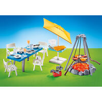Playmobil Barbecue With Seating Area Building Set 9818 NEW IN STOCK