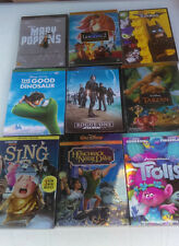 Disney DVD Lot: 12 pc Beauty & Beast, Aladdin, Peter Pan Sleeping Beauty & more