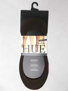 Hue Women's Shade Match Liner Socks Espresso Bean Size M/L