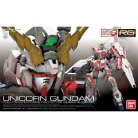 BANDAI RG 1/144 RX-0 UNICORN GUNDAM Plastic Model Kit Gundam UC NEW from Japan