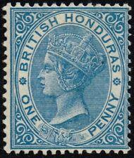 British Honduras 1884 1d. blue, MH (SG#17)