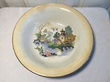 Vintage Oriental Style Porcelain Painted China Bowl