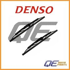 Set of 2 Dodge Caliber 2010 Rear Windshield Wiper Blade 1601112 Denso