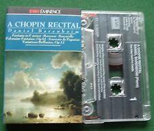 A Chopin Recital Daniel Barenboim - Piano inc Berceuse + Cassette Tape - Tested
