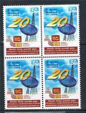 Sri Lanka 1999 Independant Television Block 4 SG 1441 MNH