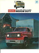 1974 GMC MEDIUM DUTY CONVENTIONAL TRUCK Brochure:Series 5000,6000,6500,97.5, CE,
