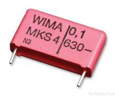 5 X, WIMA MKS 0 C 031000 00 KSSD C, condensatore, 0.1UF, 63V, RADIALE