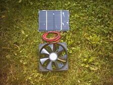SOLAR VENTILATION KIT,3W 140MM FAN, SHED,GARAGE.BASEMENT, SUMMERHOUSE