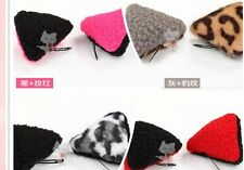 Cute Stereo Cat Ear Clip Leopard Orecchiette Hairpin Hair Accessories Hair band