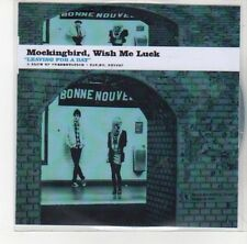 (DL814) Mockingbird Wish Me Luck, Leaving For A Day - 2012 DJ CD