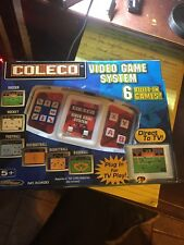 COLECO VIDEO GAME SYSTEM 6 BUILT IN GAMES PLUG IN DIRECT TO TV