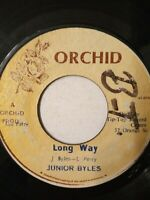 "Junior Byles ‎– Long Way - 7"" Vinyl Single 1975"