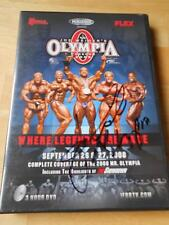 MR. OLYMPIA WEEKEND 2008 bodybuilding AUTOGRAPHED Signed muscle JAY CUTLER DVD