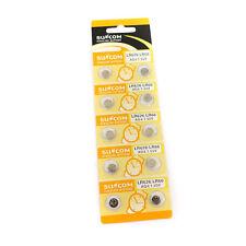 10 pcs (1 pack) AG4 SR626 377A Alkaline Button Cell Battery