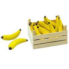 10 Bananen In Holzkiste Stiege Holz für Kaufladen