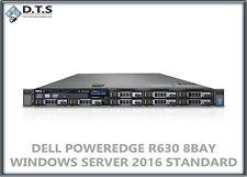 Dell PowerEdge R630 8B 24-Core 2.50Ghz E5-2678 v3 H730 32Gb Windows Server 2016