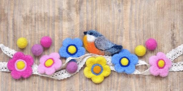 Claire's Crafts Create Felting Shop