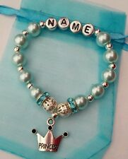 Disney's Cinderella Inspired Personalised Girls Princess Bracelet-Charm/Easter