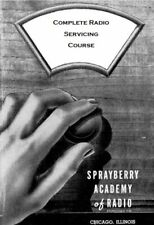 Sprayberry Antique Radio Servicing Course - Over 3 000 Vintage Pages - CD