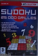 #) HITS COLLECTION - SUDOKU 25 000 GRILLES - jeu PC