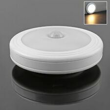 LED Wireless Motion Sensor Night Light Cabinet Wardrobe Wall Lamp Battery Power