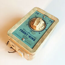 FREE Ship - Old Vintage FROST KING Electric Timer - Rare - Needs Love