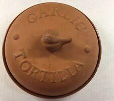 Norpro Garlic Baker/Tortilla Warmer Terra cotta