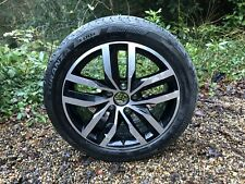 "1x Genuine Volkswagen VW Golf Mk7 17"" Madrid Alloy Wheel Rim 7Jx17 (5G0601025BT)"
