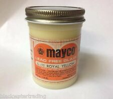 Mayco Brush-On Ceramic Glaze Vintage 4 Oz. L-11 Royal Yellow Gloss Transparent