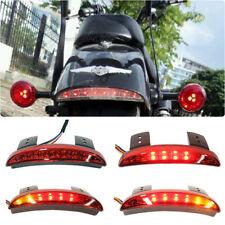 L&R Turn Signals LED Brake Rear Tail Light For Motorcycle Chopper Bobber Custom