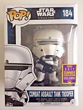 Funko POP! Star Wars Rogue One Combat Assault Tank Trooper #184 Figure Exclusive