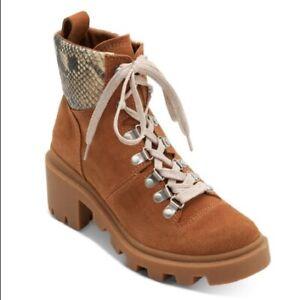 DOLCE VITA**Brown Suede RUBI Booties**US 6.5 $160