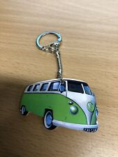 GREEN VW CAMPERVAN KEYRING NEW GIFT T5 T6 T4