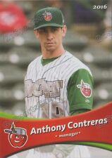 2016 Fort Wayne Tin Caps Anthony Contreras Padres MGR