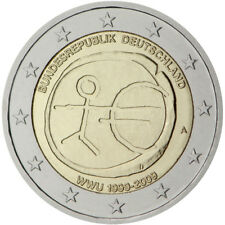 Germany / Deutschland - 2 Euro 10th anniversary of Economic and Monetary Union
