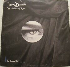 THE DAMNED - SHADOW OF LOVE plus 2 - 12in EP - UK - PUNK GOTH ROCK  oop L@@K
