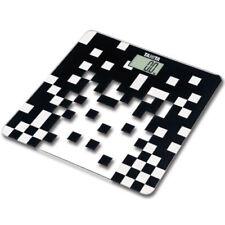 Básculas de baño digital de cristal de color principal negro