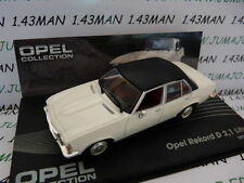 voiture 1/43 IXO eagle moss OPEL collection : Rekord D 1973/1977 2,1 litres