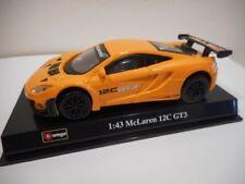 Voitures de courses miniatures bleus, pour mclaren McLaren