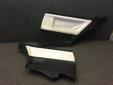 BMW E36 3 series Coupe Pair of Rear White Leather Door Panels 2dr