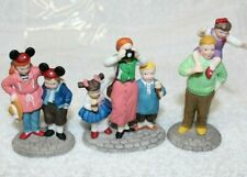 Disney Parks Family by Heritage Village Collection-Set Of 3 Handpainted Porcelai