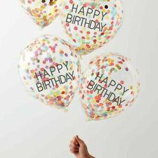 Over The Rainbow Ginger Ray Confetti Balloon - Happy Birthday