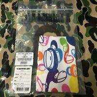 A BATHING APE BAPE Baby Milo Multi Color Pocket Tissue Case Cover Rare Deadstock