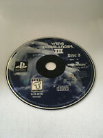 Wing Commander 3 III Heart of the Tiger - DISK 3 ONLY - Playstation 1 PS1 PSX