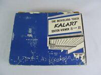 The Movieland Touch Kalart Editor Viewer 8 Mark II Original Box