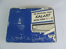 The Movieland Touch Kalart Editor Viewer 8 Mark II Original Box