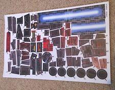 Halcón Milenario Star Wars Potf (1995) Pegatinas De Reemplazo