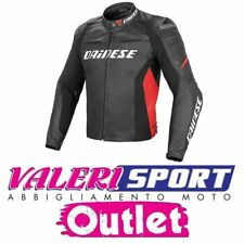 DAINESE GIACCA JACKET RACING D1 PELLE LEATHER MOTOGP SBK RACING DUCATI YAMAHA