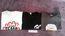 TEE SHIRT FIFA 2014 ULTIMATE TEAM PS3 + GRAN TURISMO PS3 + HALO 5 JAUNE PS4